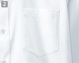 メンズシャツのポイント�左胸ポケット付き