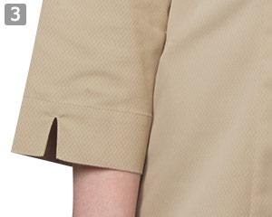 七分袖イタリアンカラーシャツのポイント�実用的な七分袖
