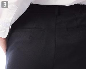 パンツ(33-AN454)のポイント�両後片玉緑ポケット
