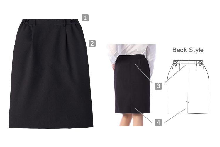 スカート(33-BS3847)の商品詳細