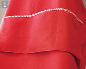 前掛けエプロン(33-CA1409)の商品詳細「実用的なポケット」