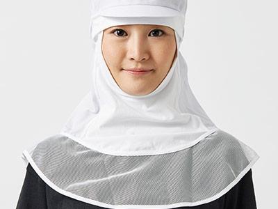 ツリガネタイプの衛生帽子