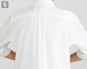 ショップコート/ボタンダウン(33-ET7727)の商品詳細「動かしやすい肩ライン」