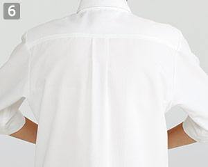 ショップコート/スタンドカラー(33-ET7730)の商品詳細「動かしやすい肩ライン」