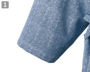 茶衣着/着物(33-JT6760)の商品詳細「細めの袖口」