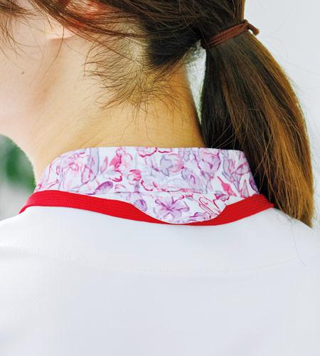 後ろ首タブ付きのイメージ図