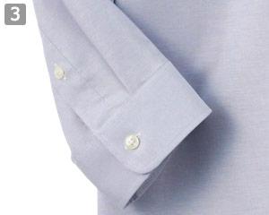 作業性しやすい七分袖