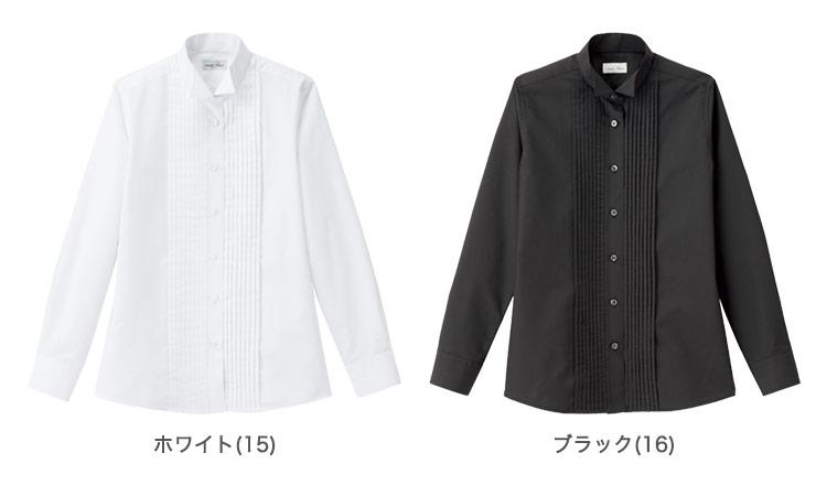 ピンタックウィングカラーシャツ(34-FB4040L)のカラー展開