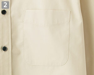 ブロードレギュラーカラー半袖シャツ(34-FB4527U)の商品詳細「アウトポケット」