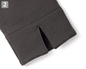 和風カットソー(34-FB4544U)�袖口スリット