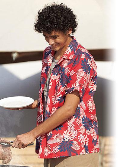 シダ柄のアロハシャツの特徴