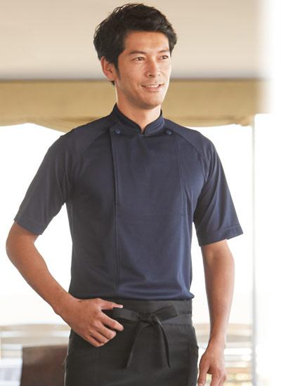 ボンマックスのニットコックシャツ(34-FB4550U)ポイント画像