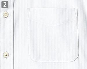 左胸アウトポケット