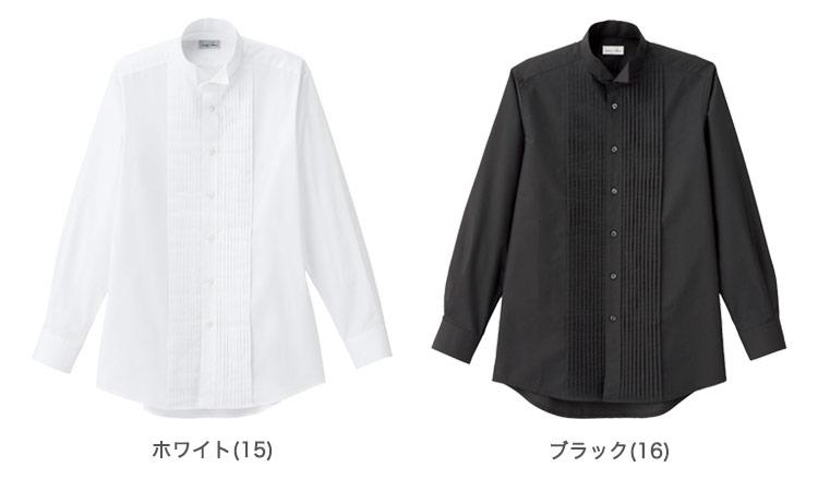 ピンタックウィングカラーシャツ(34-FB5045M)のカラー展開
