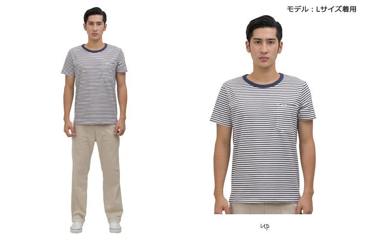 LeeTシャツ着用画像