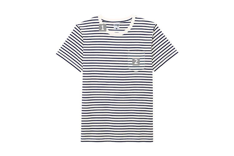 ポケット付きボーダーTシャツ(34-MS1141PB)のおすすめポイント