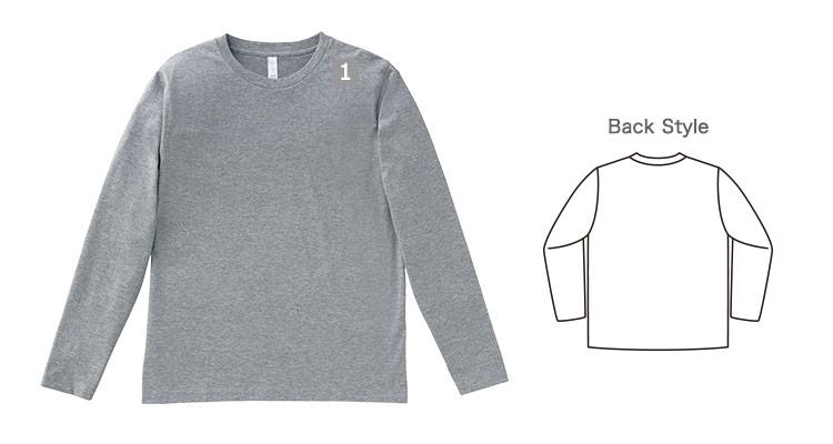 キレイ系ロングTシャツの商品詳細(34-ms1605)