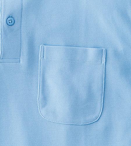 小物を入れられる便利な左胸ポケット(34-ms3115)
