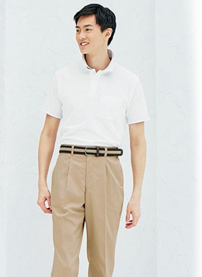 2WAYカラーポロシャツの特徴(34-MS3116)