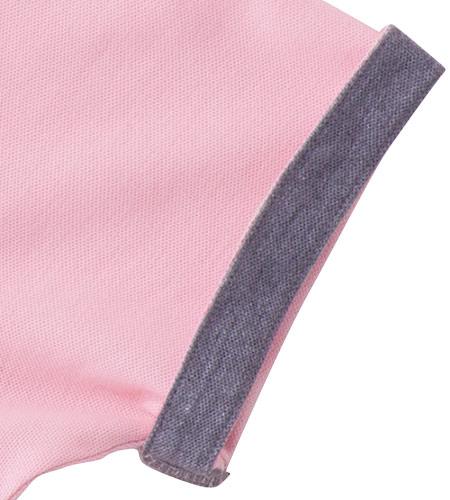 袖からチラリとのぞくアクセントカラーがおしゃれ(34-ms3116)