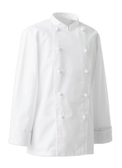 セブンユニフォームのT/C長袖コックコート(35-AA0490-0)のポイント画像