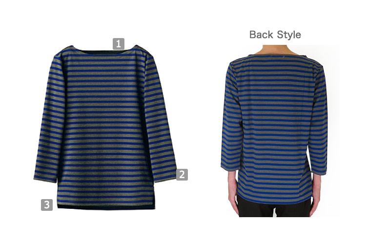 ボートネックTシャツ(35-CU2598)のおすすめポイント