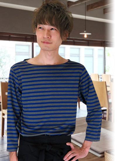 カジュアルすぎないボーダーTシャツの魅力