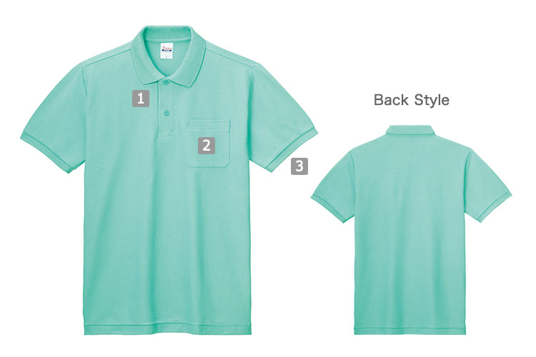 T/Cポロシャツ(41-00100VP)の商品詳細