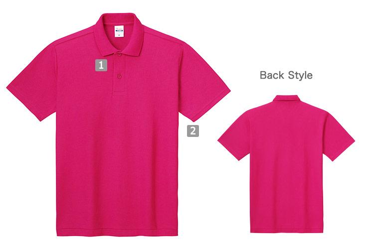 カジュアルポロシャツ(41-00193CP)の商品詳細