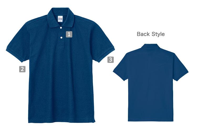 スタンダードポロシャツ(41-00223SDP)の商品詳細