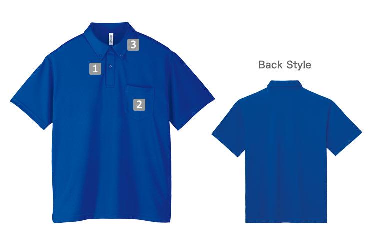 ボタンダウンドライポロシャツ(41-00331ABP)のおすすめポイント