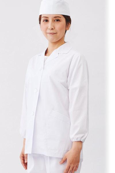 白衣/長袖(71-1-001)のおすすめポイント