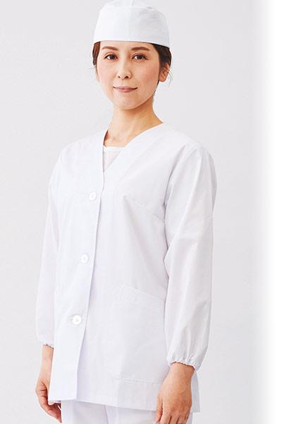 白衣/長袖(71-1-011)のおすすめポイント