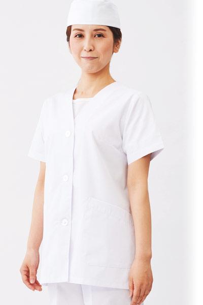白衣/半袖(71-1-012)のおすすめポイント