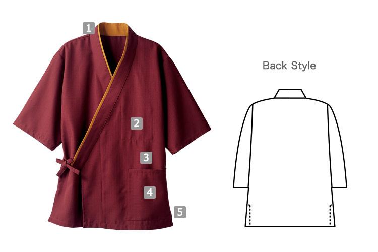 作務衣(71-3-521)のおすすめポイント