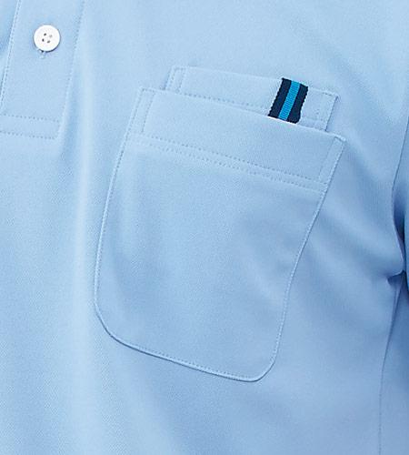 左胸2重ポケット