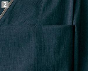 オニベジプルオーバーのポイント�左胸ポケット
