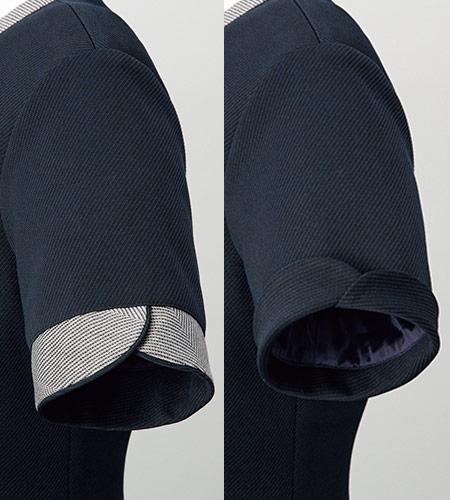 袖口のデザインのイメージ図