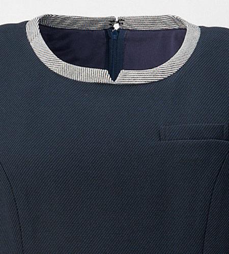 衿元のデザインのイメージ画像