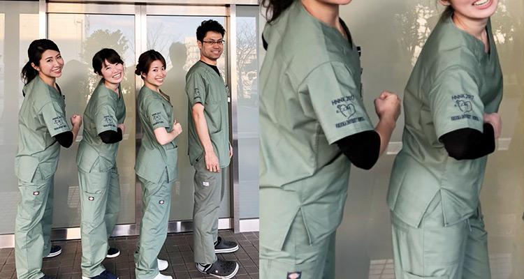 福岡大学病院様ユニフォーム導入事例