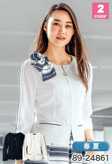 八分袖ジャケット(89-24861)