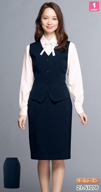 EN JOIE(アンジョア)の事務服スカート 21-51076