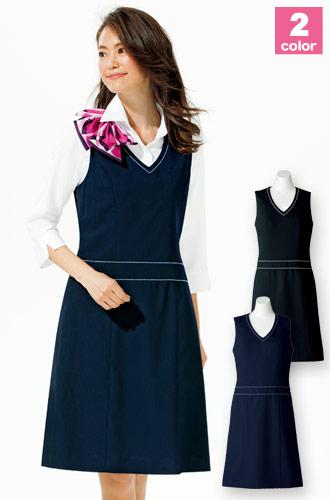 ストレッチジャンパースカート(34-AO5800)