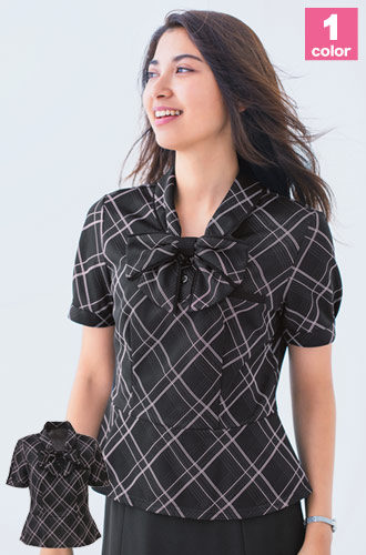 リボン付きポロシャツ(A9-ESP451)