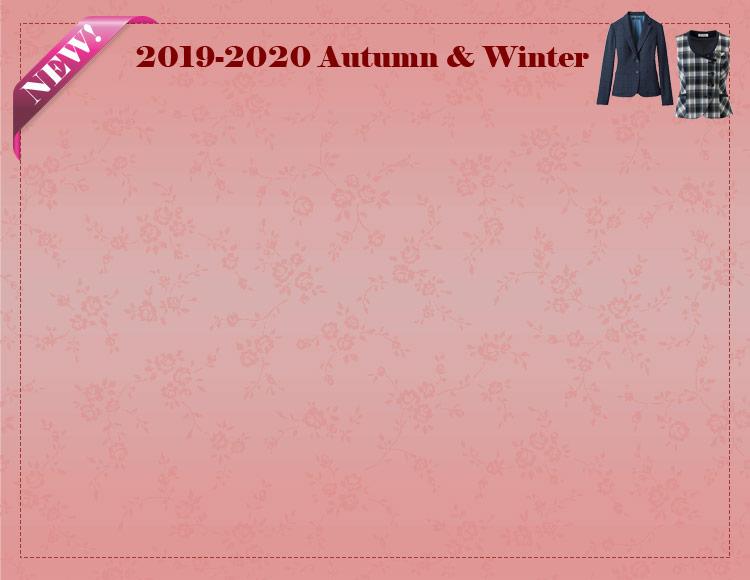 事務服 新作コレクション 2019-2020秋冬