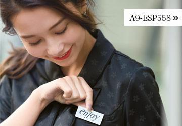 花柄ポロシャツ(A9-ESP558)