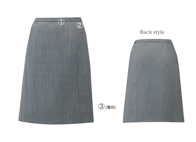 Aラインスカート A9-EAS713 詳細画像