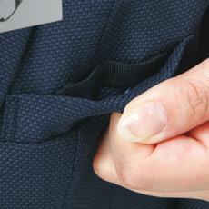 ベスト A9-EAV679 Wネームループ付き胸ポケット