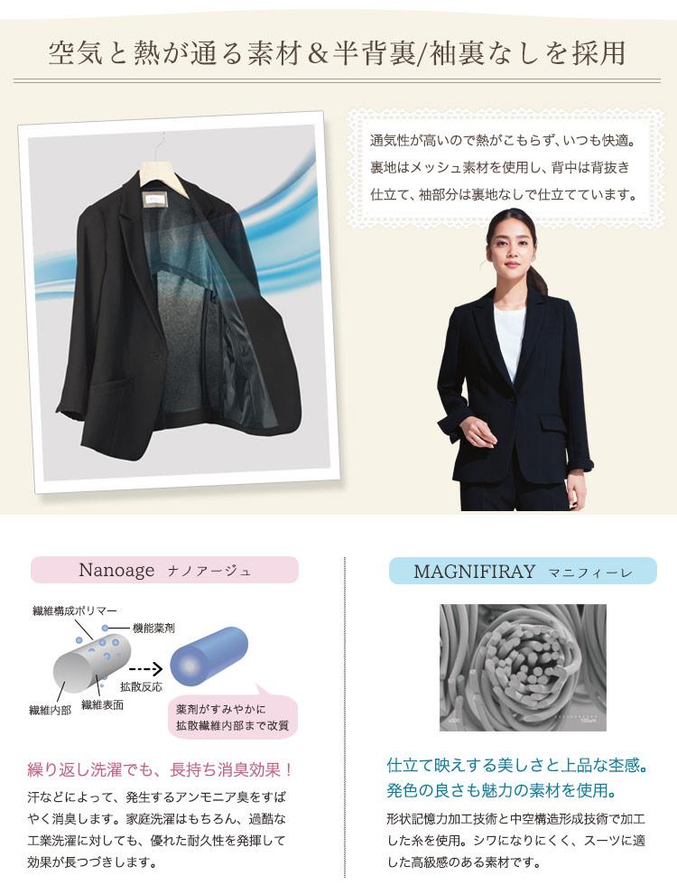 ジャケットの機能性