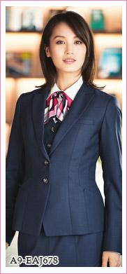 定番人気事務服 着痩せジャケット(A9-EAJ678)